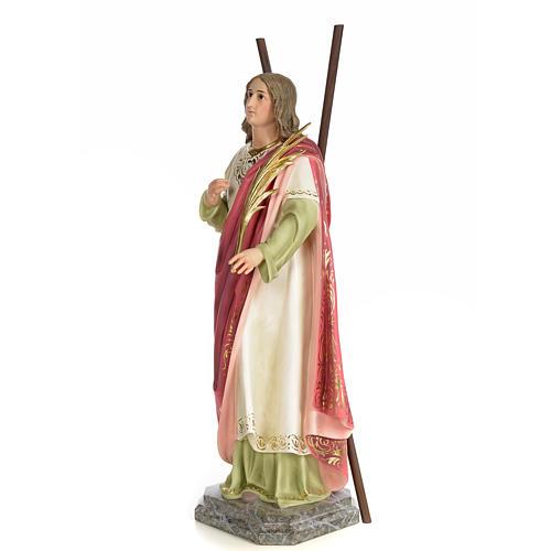 Sant'Eulalia 80 cm pasta di legno dec. elegante 2
