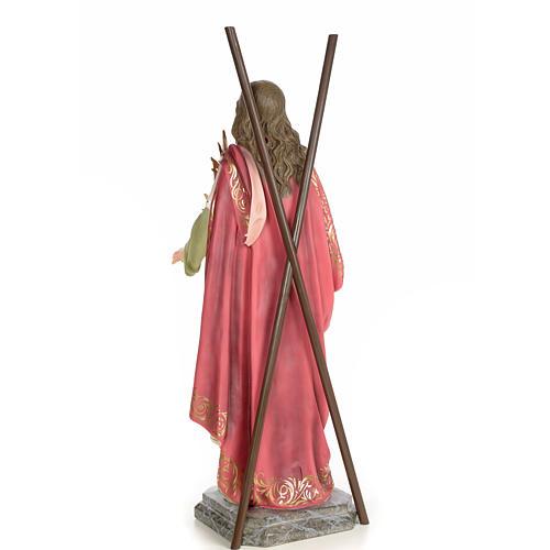 Sant'Eulalia 80 cm pasta di legno dec. elegante 3