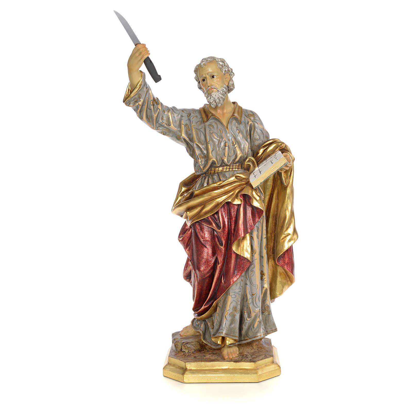 Apostel Bartholomäus 80cm, extra Finish 4