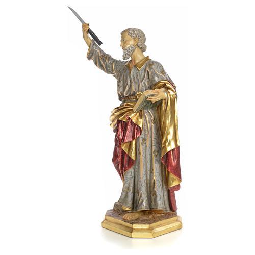 Apostel Bartholomäus 80cm, extra Finish 2