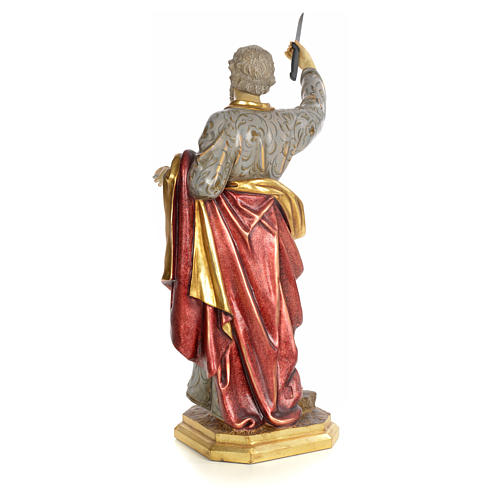 Apostel Bartholomäus 80cm, extra Finish 3