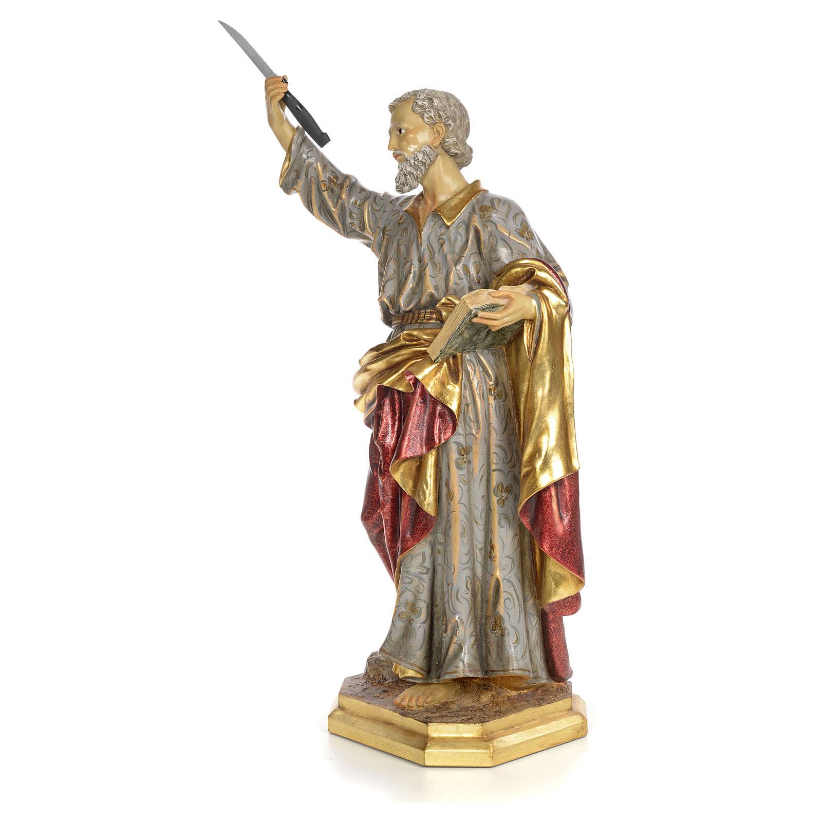 Bartholomew the Apostle wood paste, extra finish 4