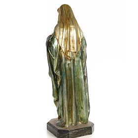 Sacro Cuore di Maria 80 cm pasta di legno dec. policroma s10