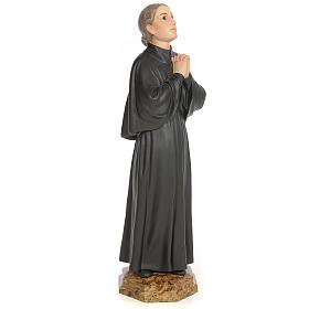 Santa Gemma Galgani 60 cm pasta di legno dec. elegante s4