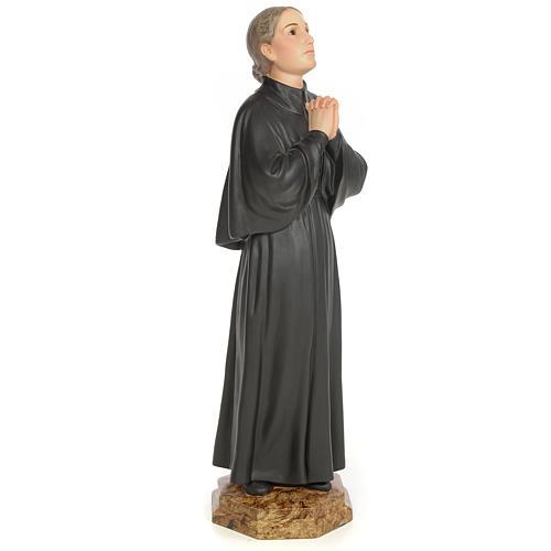 Santa Gemma Galgani 60 cm pasta di legno dec. elegante 4