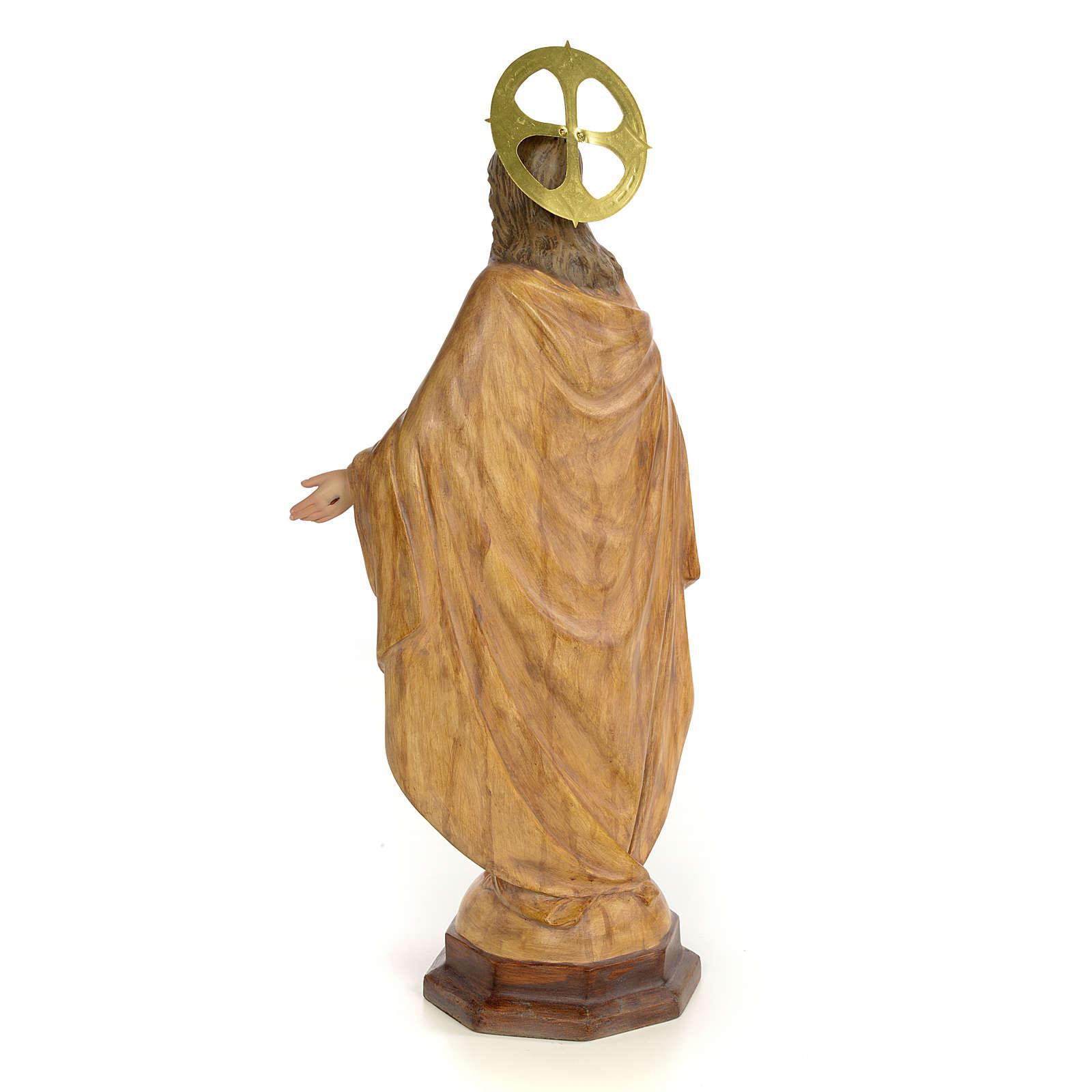 Sagrado Corazón de Jesús 50cm Dec. Bruñida 4