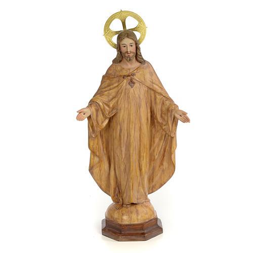 Sagrado Corazón de Jesús 50cm Dec. Bruñida 1