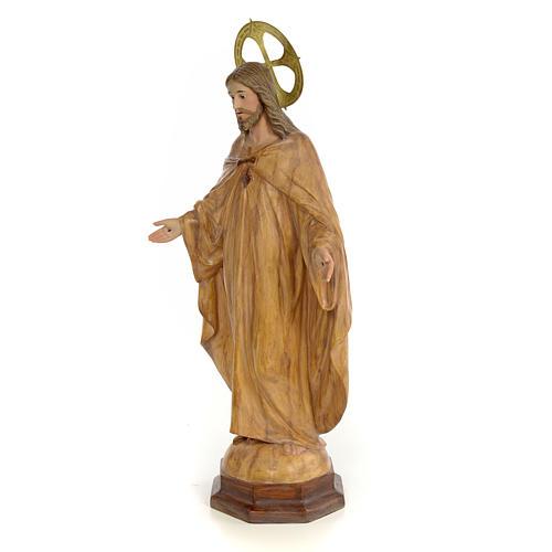Sagrado Corazón de Jesús 50cm Dec. Bruñida 2