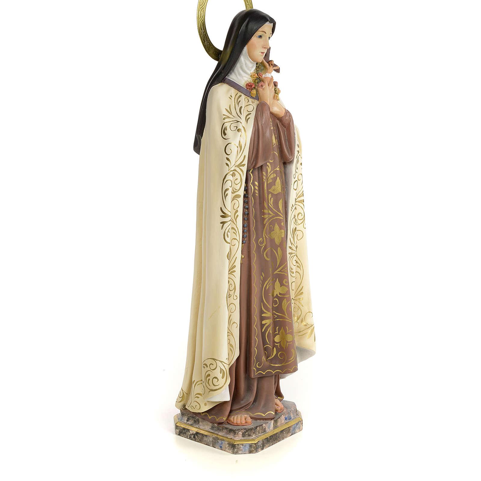 Santa Teresa 60 cm pasta di legno dec. elegante 4