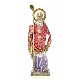 Sant'Agostino 120 cm pasta di legno dec. elegante s1