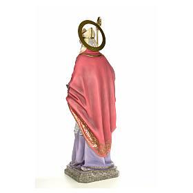 Sant'Agostino 120 cm pasta di legno dec. elegante s3