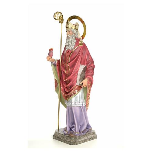 Sant'Agostino 120 cm pasta di legno dec. elegante 2