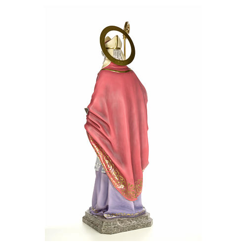 Sant'Agostino 120 cm pasta di legno dec. elegante 3