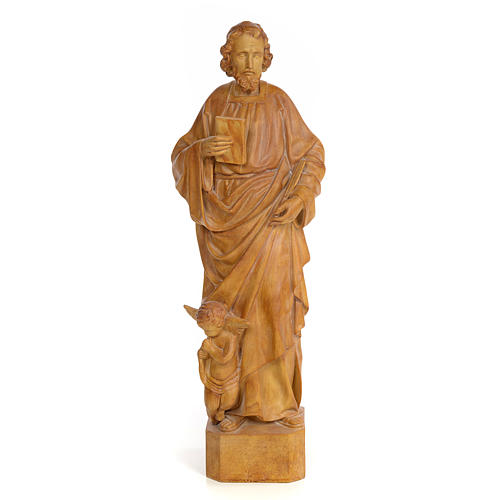 San Matteo 60 cm pasta di legno dec. brunita 1