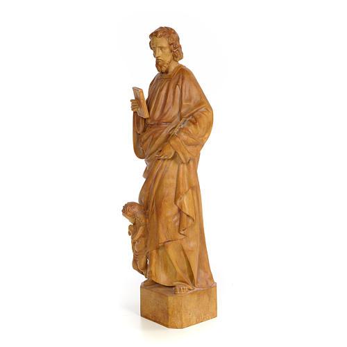 San Matteo 60 cm pasta di legno dec. brunita 2