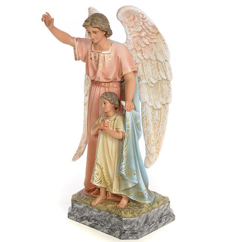 Guardian Angel 50cm, wood paste, elegant decoration 2