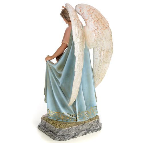Ángel de la Guarda 50cm pasta de madera dec. Elegante 3