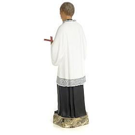 Saint Aloysius Gonzaga 30cm, wood paste, fine decoration s3
