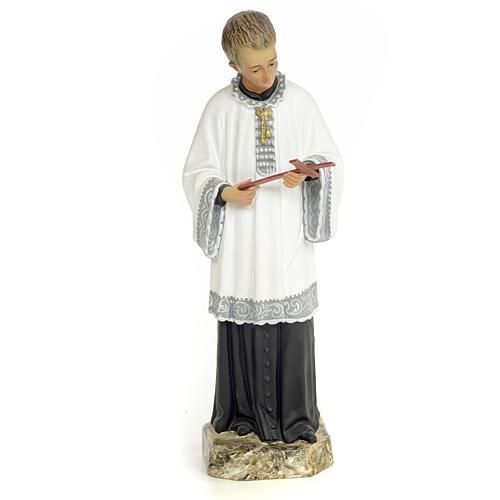 Saint Aloysius Gonzaga 30cm, wood paste, fine decoration 1