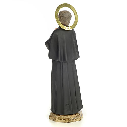 Saint Gemma Galgani 40cm, wood paste, elegant decoration 3