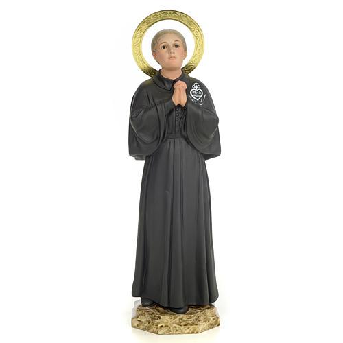 Santa Gemma Galgani 40 cm pasta di legno dec. elegante 1