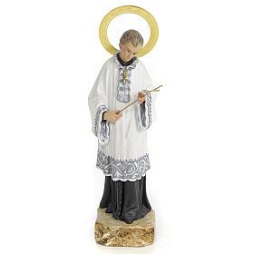 São Luís de Gonzaga 20 cm pasta madeira acab. elegante s1