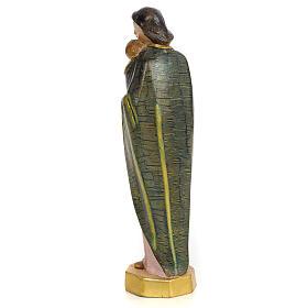 Vergine con bimbo 30 cm pasta di legno dec. speciale s3