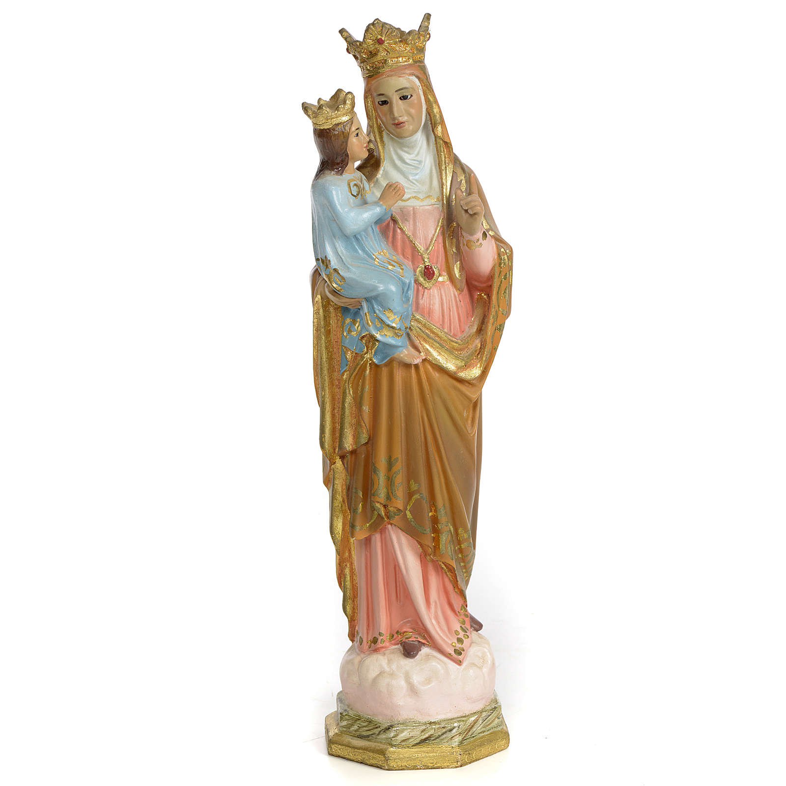 Sainte Anne de Beaupré 30 cm pâte à bois finition supérieure 4