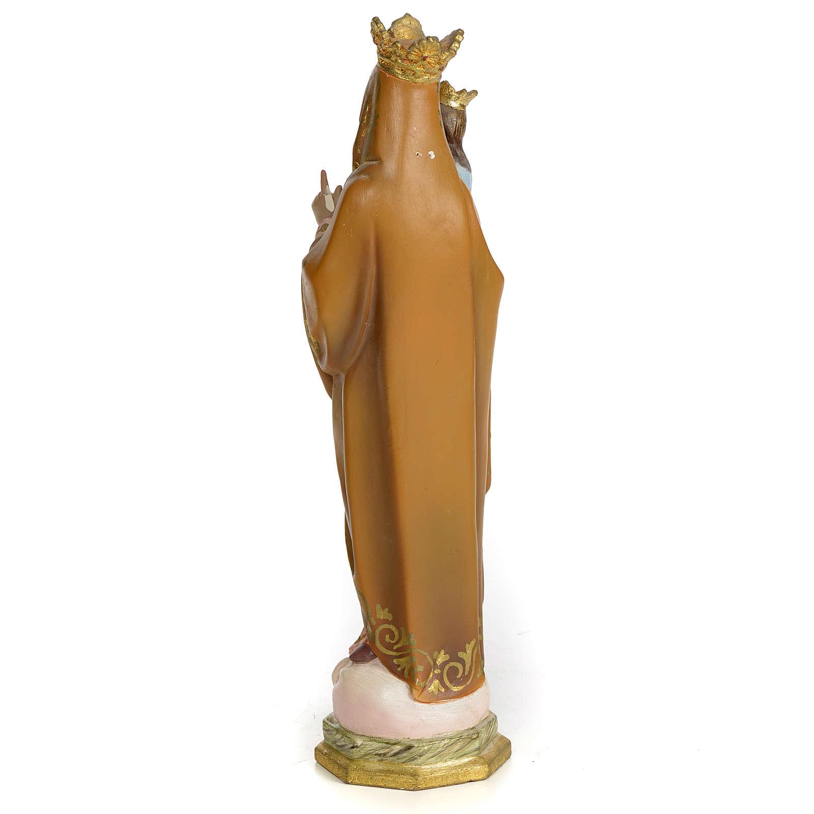 Sant'Anna di Beaupré 30 cm pasta di legno dec. superiore 4