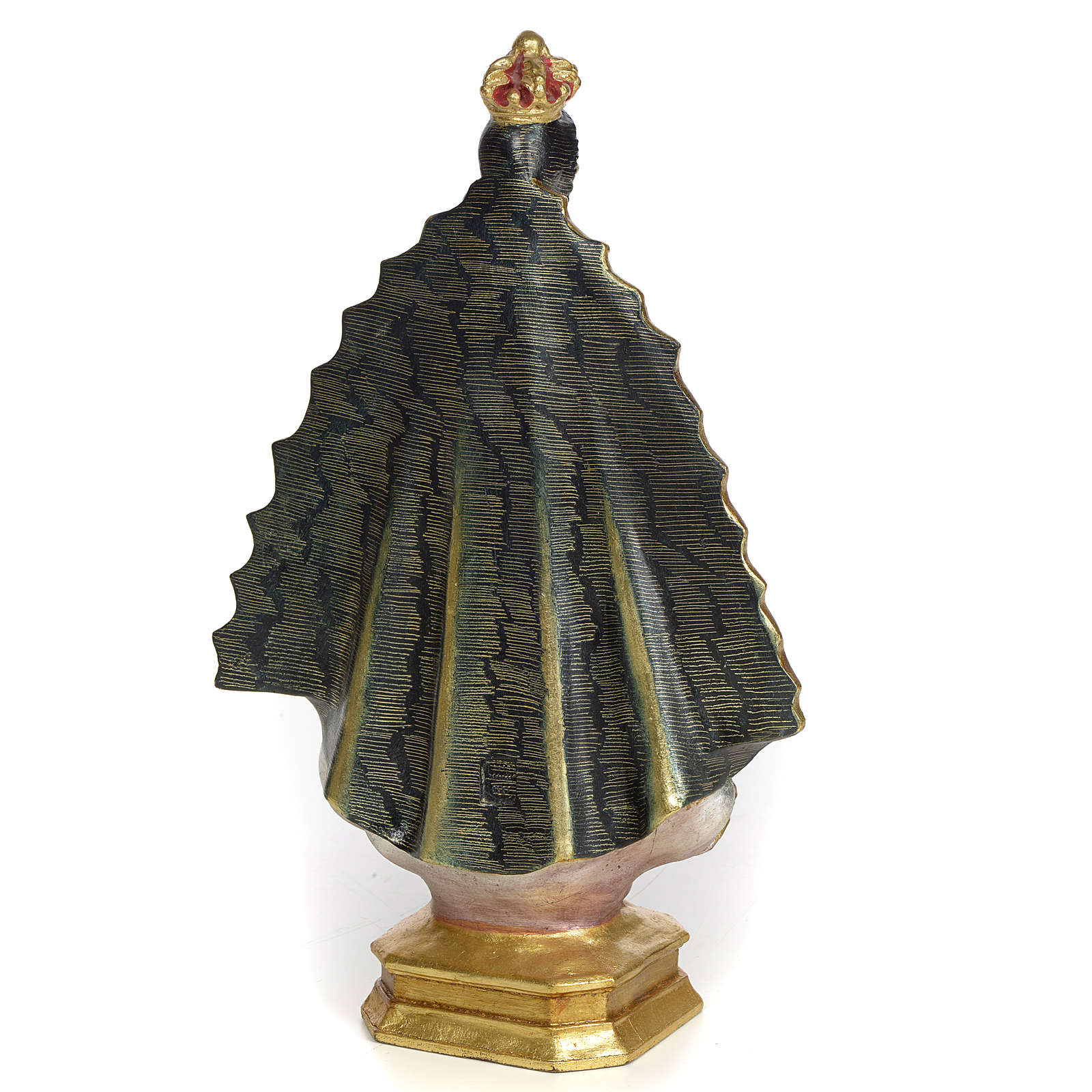 Nostra Signora di Regla 30 cm pasta di legno dec. extra 4