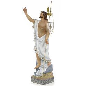 Christ Ressuscité 40 cm fin. supérieure pâte à bois s2