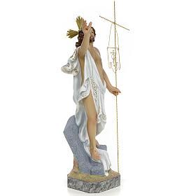 Gesù Risorto 40 cm pasta di legno dec. superiore s4