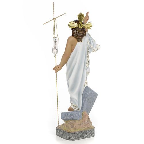 Gesù Risorto 40 cm pasta di legno dec. superiore 3