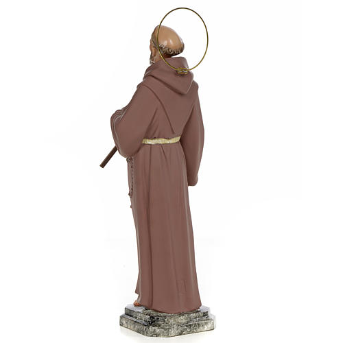 Saint Francis of Assisi 50cm, wood paste, fine decoration 3