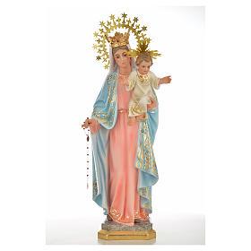Nossa Senhora do Rosário 50 cm acab. superior pasta madeira s1