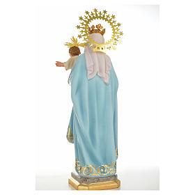 Nossa Senhora do Rosário 50 cm acab. superior pasta madeira s3