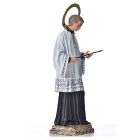 Saint Louis de Gonzague 50 cm pâte à bois fin. élégante s4