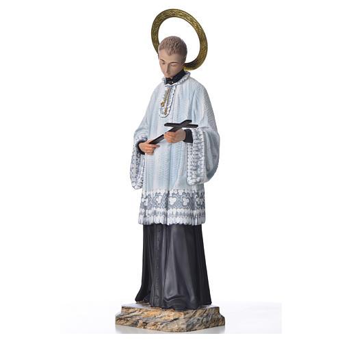 Saint Louis de Gonzague 50 cm pâte à bois fin. élégante 2