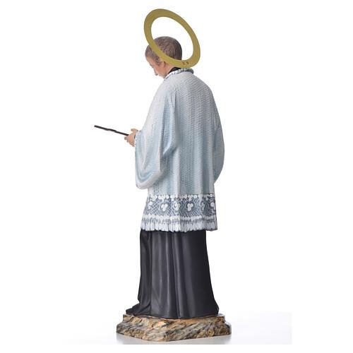 Saint Louis de Gonzague 50 cm pâte à bois fin. élégante 3