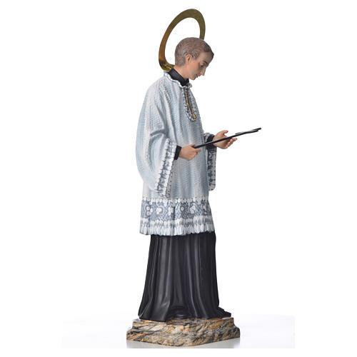 Saint Louis de Gonzague 50 cm pâte à bois fin. élégante 4