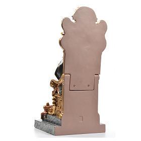 Sacré Coeur de Marie throne 40 cm pâte à bois fin. supérieure s3
