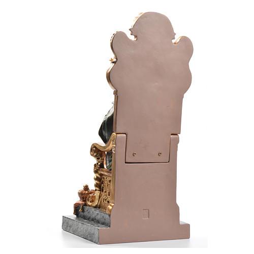 Sacré Coeur de Marie throne 40 cm pâte à bois fin. supérieure 3