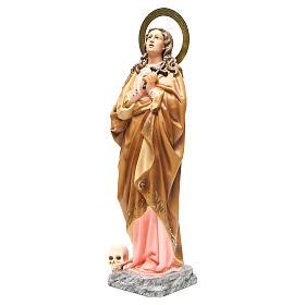 Maria Maddalena 60 cm pasta di legno dec. elegante s2