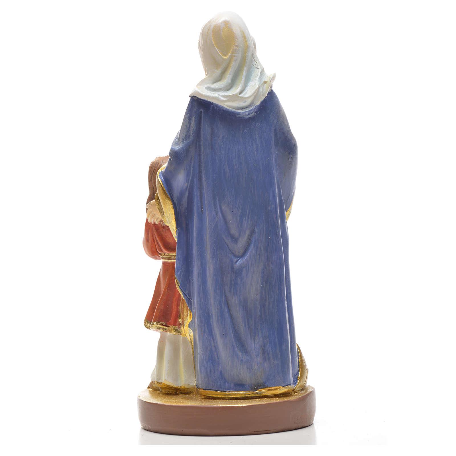 Sant'Anna 12 cm con immaginetta PREGHIERA ITALIANO 4