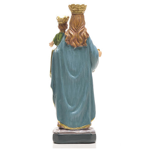 Mary Help of Christians 12cm with image and SPANISH PRAYER 2