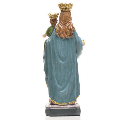 Mary Help of Christians 12cm with image and SPANISH PRAYER 5