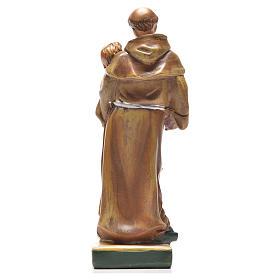 Sant'Antonio da Padova 12 cm con immaginetta PREGHIERA INGLESE s2