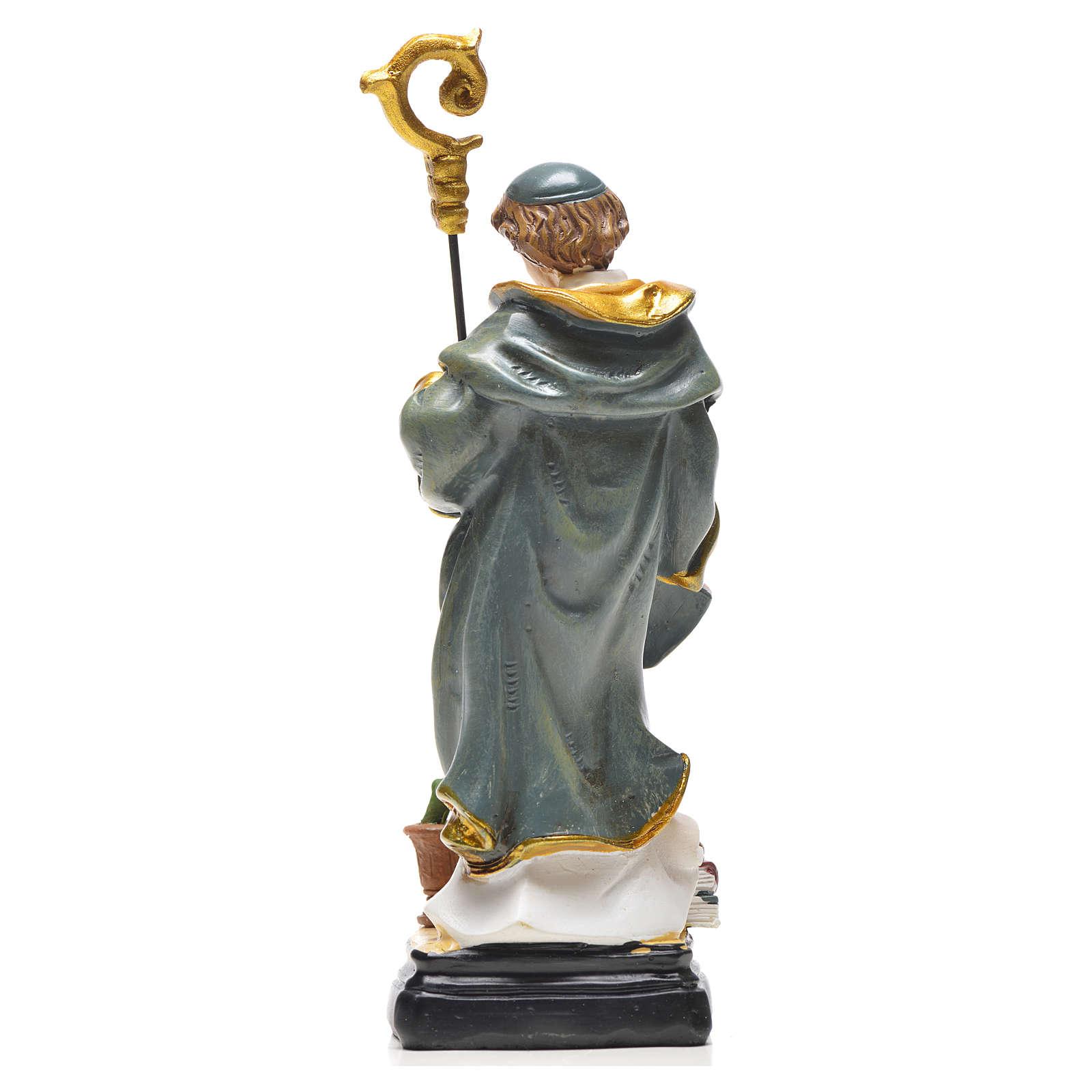 San Benedetto 12 cm con immaginetta PREGHIERA FRANCESE 4