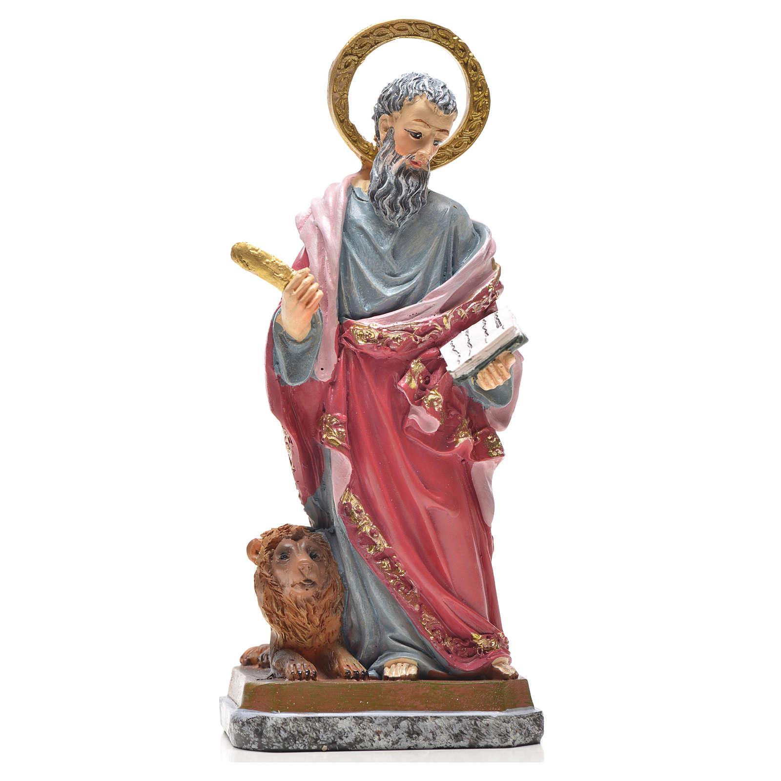 San Marco 12 cm con immaginetta PREGHIERA SPAGNOLO 4