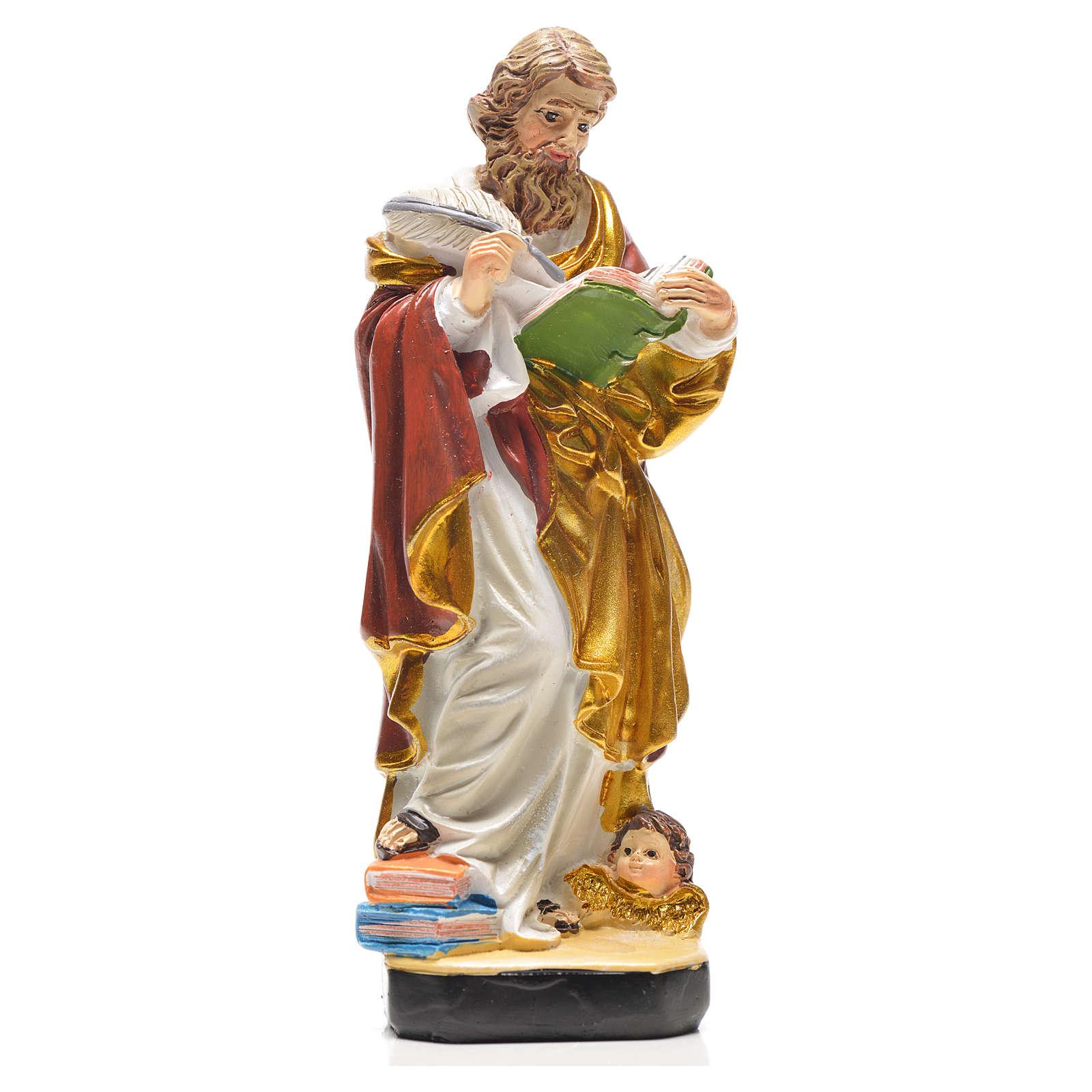 San Matteo 12 cm con immaginetta PREGHIERA INGLESE 4